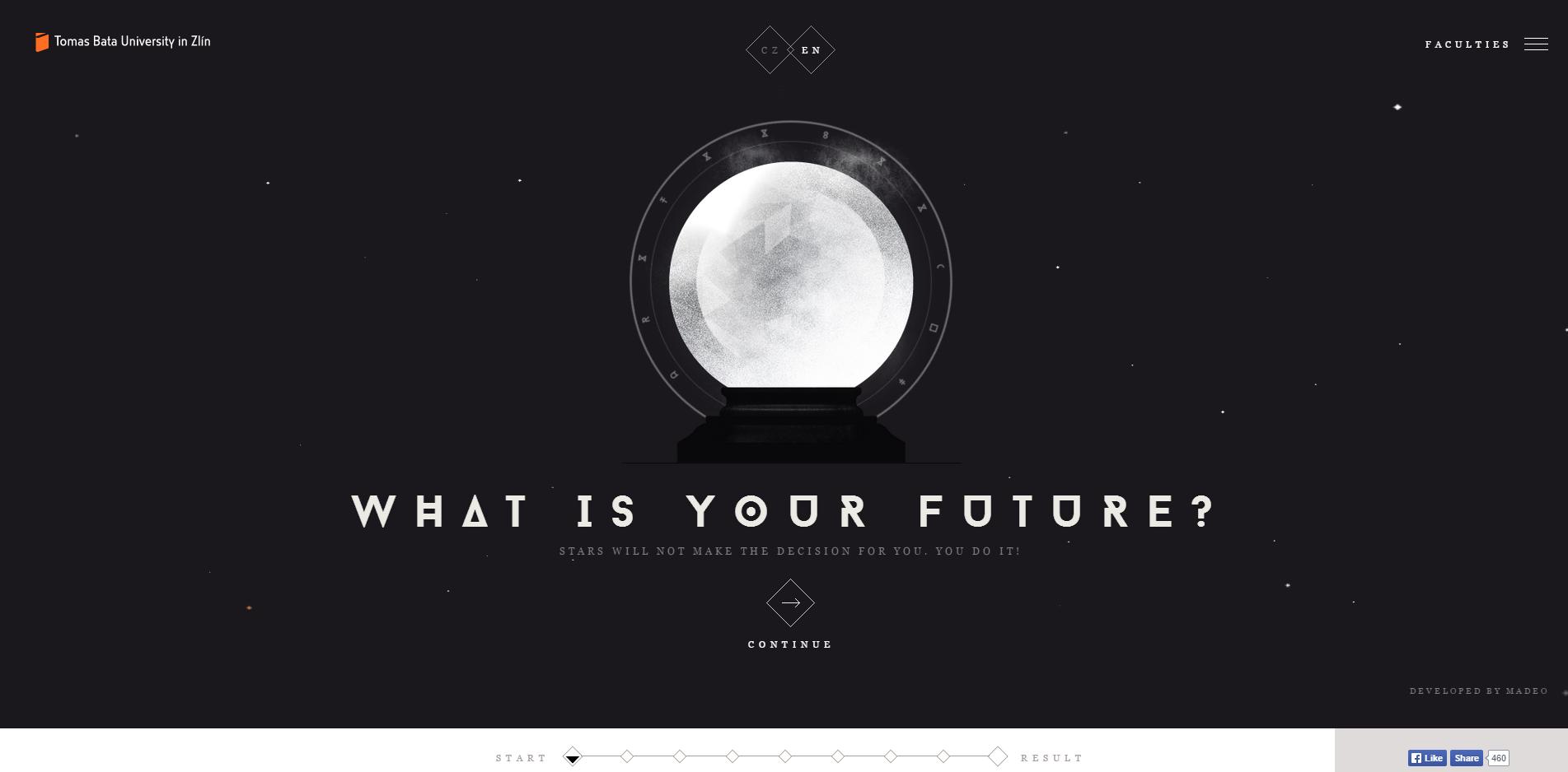 trend web design 2015 esempio typography